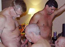 Daddies having sex