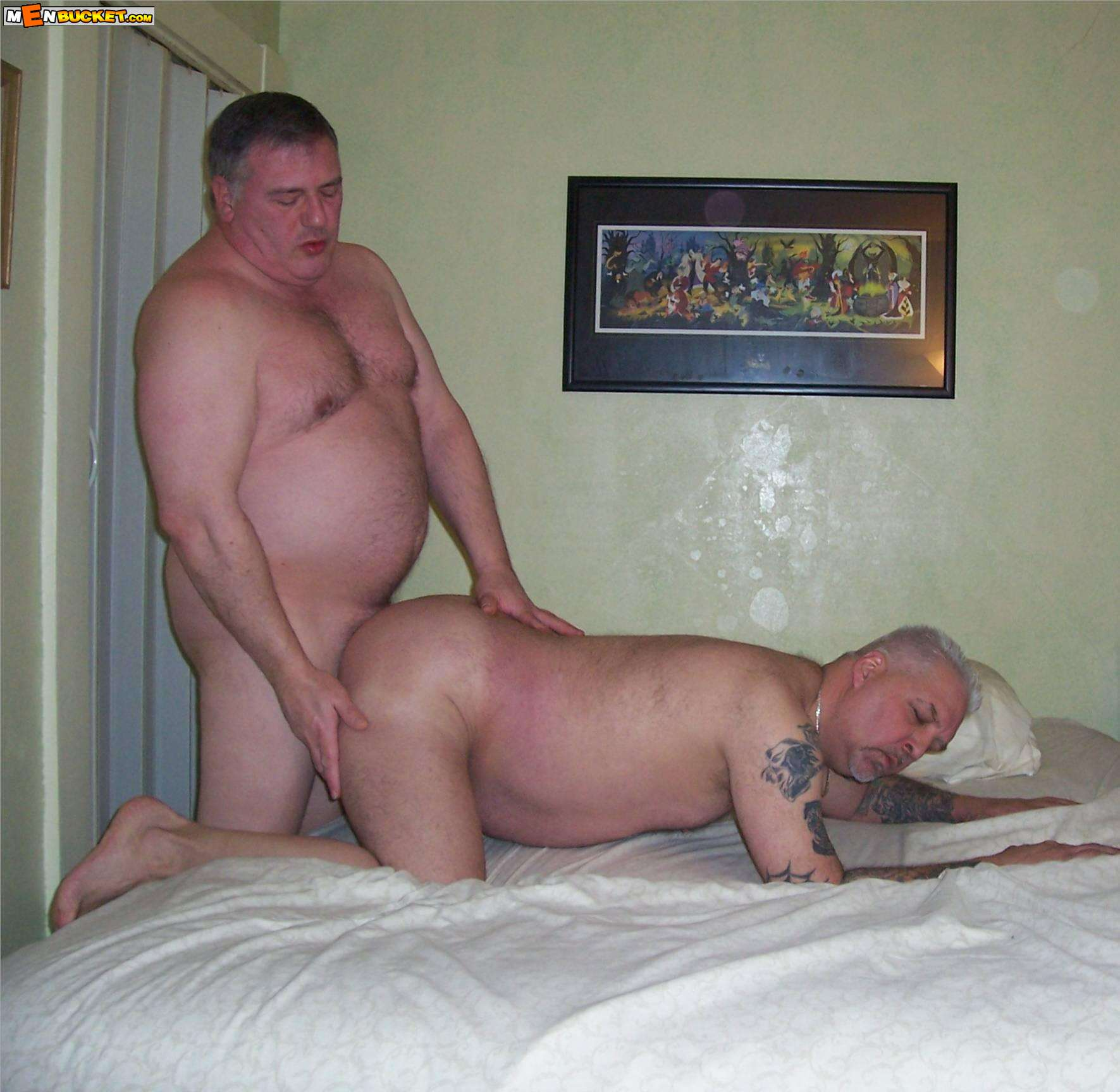 image Mature men having gay sex with younger men